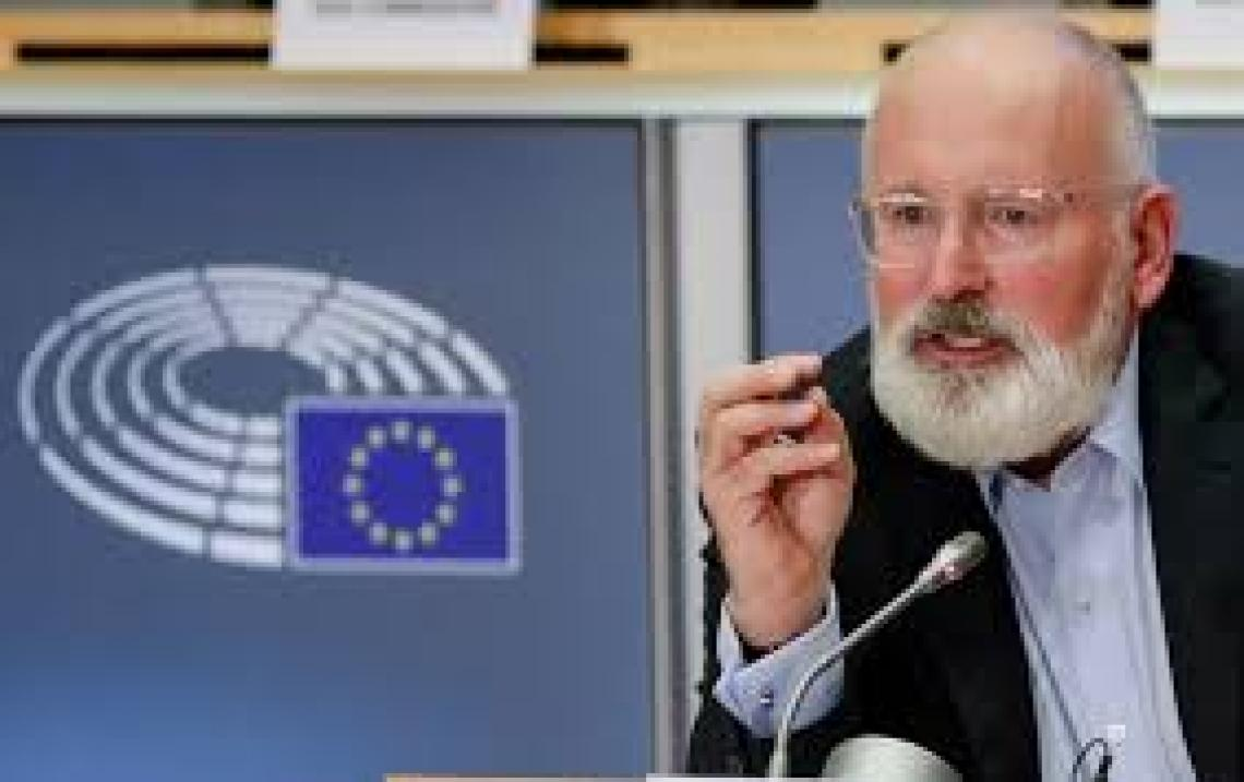 Frans Timmermans voluit voor European Green Deal