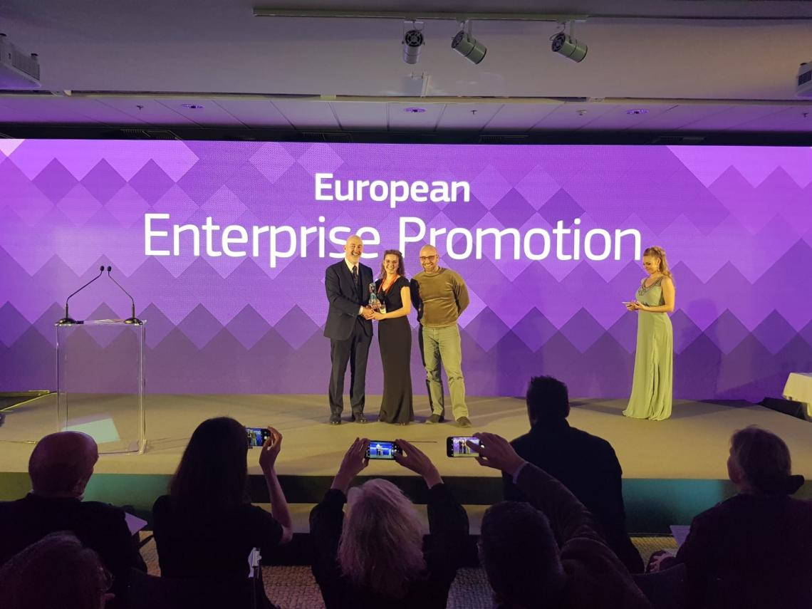 Jongerenincubator Haven wint European Enterprise Promotion Award