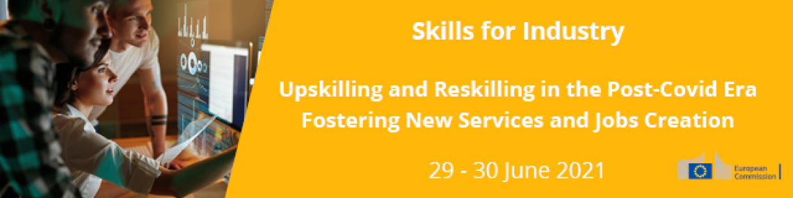 Upskilling and Reskilling in the Post-Covid Era: Fostering New Services and Jobs Creation